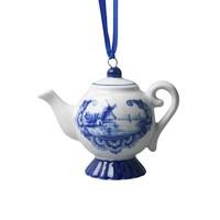 Typisch Hollands Weihnachtsanhänger - Delfter Blau - Teekanne