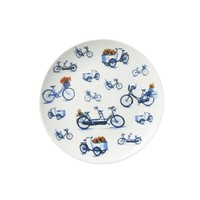 Typisch Hollands Bicycle plate 20 cm - Modern Delft blue