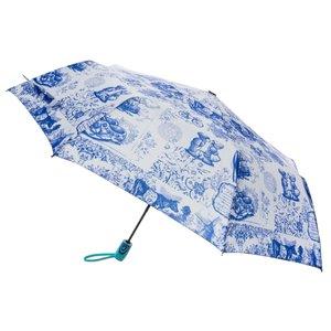 Typisch Hollands Luxe paraplu - Delfts blauw - Automatic
