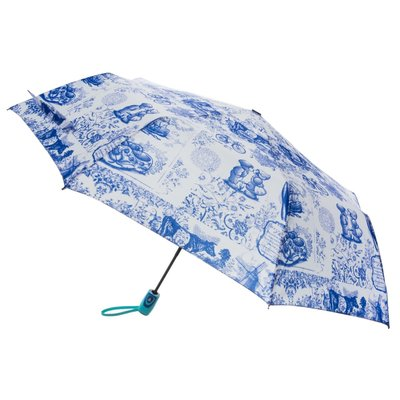 Typisch Hollands Luxury umbrella - Delft blue - Automatic
