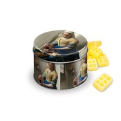 Typisch Hollands Candy Tin - Filled - Vermeer Milkmaid - butter lozenges