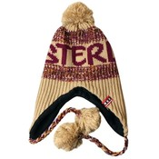 Typisch Hollands Amsterdam Fashion - Flap hat with balls - Khaki