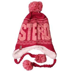 Typisch Hollands Amsterdam - Flap hat with balls - Fuchsia-Pink