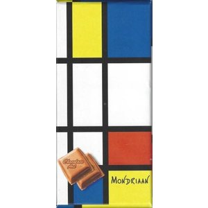 Typisch Hollands Chocolate bar - Dutch masters - Mondrian
