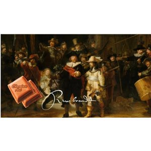 Typisch Hollands Chocolate bar - Dutch masters - Rembrandt