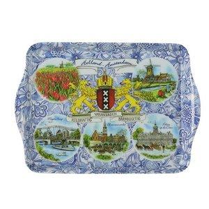 Typisch Hollands Tablett - Übersicht-Amsterdam 21 cm