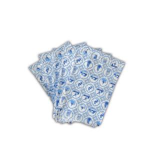 Typisch Hollands Delfter blaue Geschenktüten 13x18 cm