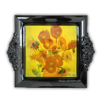 Typisch Hollands Van Gogh sunflower sunflower tray 23 cm