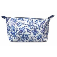 Typisch Hollands Toiletry bag - Delft blue bird and flower motif