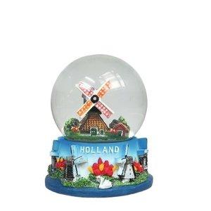 Typisch Hollands Sneeuwschudbol molens Holland
