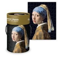 Typisch Hollands Puzzle in Tube - Mädchen mit der Perle
