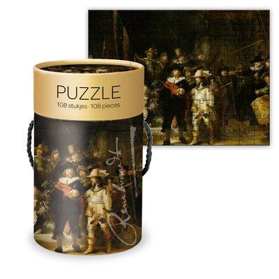 Typisch Hollands Puzzle in Tube - die Nachtwache
