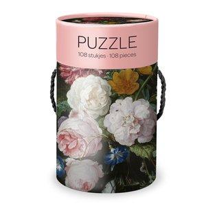 Typisch Hollands Puzzle für den Fall - Blume aus dem goldenen Zeitalter (Heem)