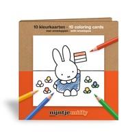 Nijntje (c) Farbkarten - Miffy