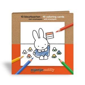 Nijntje (c) Color cards - Miffy