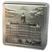 Typisch Hollands Luxury tin bon bons Amsterdam palace on the Dam