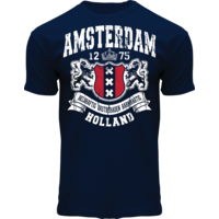 FOX Originals T-Shirt- Amsterdam - Holland -Dark blue