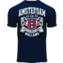 FOX Originals T-Shirt- Amsterdam  -  Holland Donkerblauw