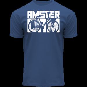 FOX Originals T-Shirt Blauw- Bike Town Amsterdam