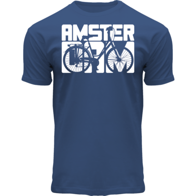 FOX Originals T-Shirt Blue - Bike Town Amsterdam