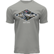 FOX Originals T-Shirt Amsterdam - Est1275 (Camo-Diamond)