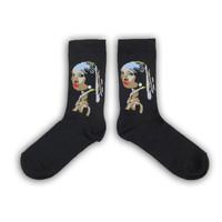 Holland sokken Vermeer`s  Damessokken - ( Art collection)