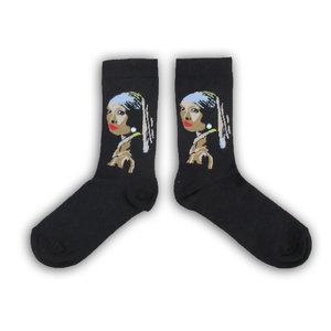 Holland sokken Vermeer`s Damensocken - (Kunstsammlung)