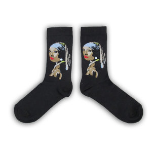 Holland sokken Vermeer`s Women's Socks - (Art collection)