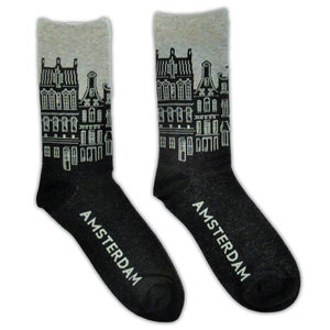 Holland sokken Herrensocken - Fassade beherbergt Amsterdam
