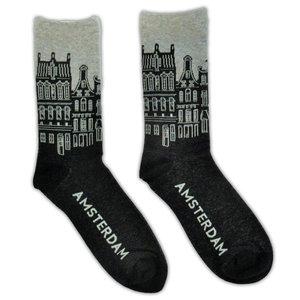 Holland sokken Men's socks - Facade houses Amsterdam