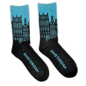 Holland sokken Herrensocken - Fassadenhäuser Amsterdam