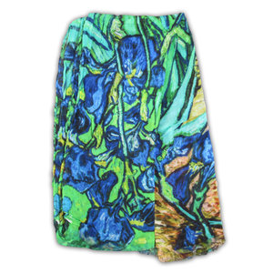 Robin Ruth Fashion Ultra viscose sjaal - Vincent van Gogh - Irissen