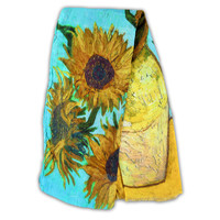 Robin Ruth Fashion Ultra viscose scarf - Vincent van Gogh - Sunflowers