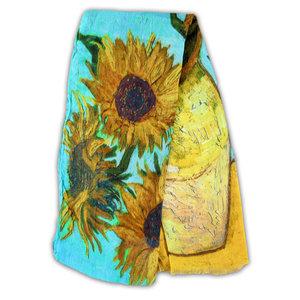 Robin Ruth Fashion Ultra viscose sjaal - Vincent van Gogh -Zonnebloemen