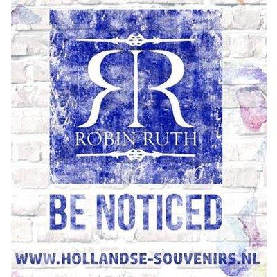 Holland sokken Fietssokken - Heren - Robin Ruth - Blauw - Wit