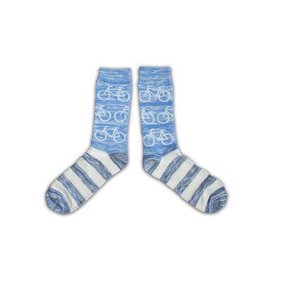 Holland sokken Radsocken - Herren - Robin Ruth - Blau - Weiß