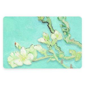 Typisch Hollands Van- Goghmandel-Blüten-Tischset - groß