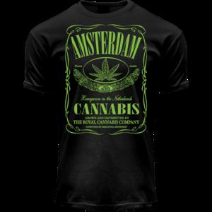 FOX Originals T-shirt Cannabis-Jack  Amsterdam