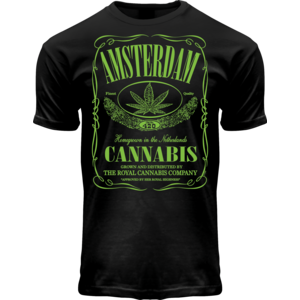 Holland fashion T-shirt Cannabis-Jack  Amsterdam