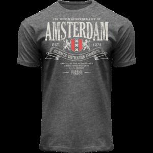 FOX Originals Amsterdam - T-Shirt - Superior (Denim-Grau)