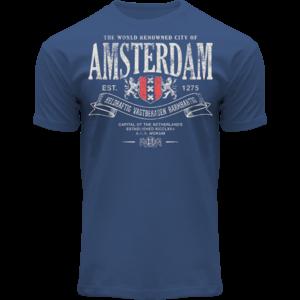 FOX Originals Amsterdam - t-Shirt - Superior (Denim blue)