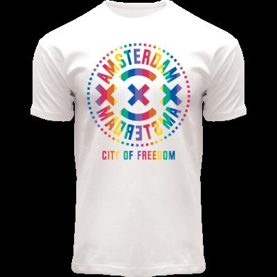 Holland fashion Pride-Shirt - Amsterdam - city of freedom