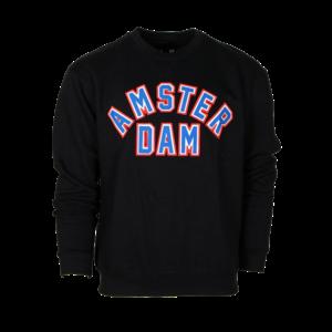 FOX Originals Sweater Round neck - Mike (Black) Patch Amsterdam