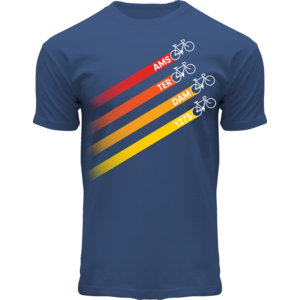 FOX Originals T-Shirt - Amsterdam - Radsport - (Jeansblau)