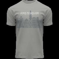 FOX Originals T-Shirt - Amsterdam Graphic art - Canal-Houses of Amsterdam