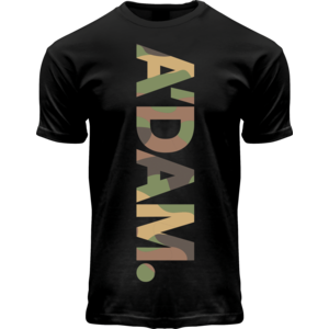 Holland fashion T-Shirt Amsterdam - Camo-Chestbar