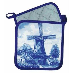 Typisch Hollands Pot holders Mill - Delft -