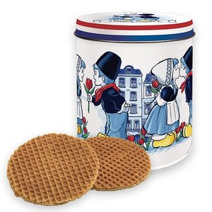 Typisch Hollands Stroopwafels in Tin I love Holland