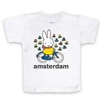 Nijntje (c) T-Shirt Nijntje op de fiets in Amsterdam