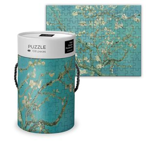 Typisch Hollands Puzzel in koker - Vincent van Gogh - Bloesem